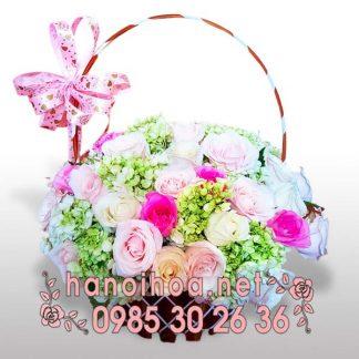 Giỏ hoa GH01