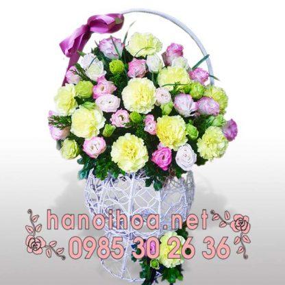 Giỏ hoa GH02
