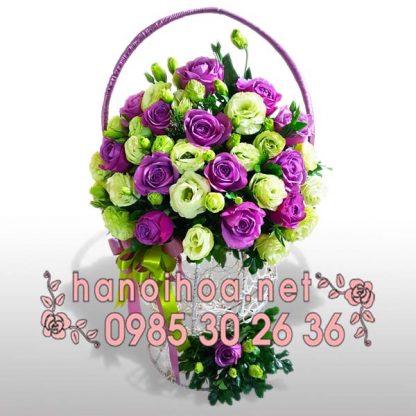 Giỏ hoa GH03