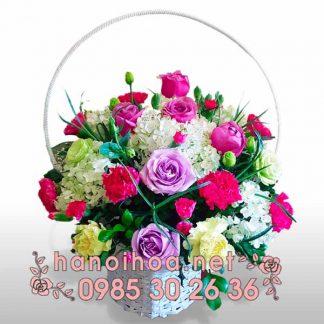 Giỏ hoa GH05