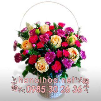 Giỏ hoa GH06
