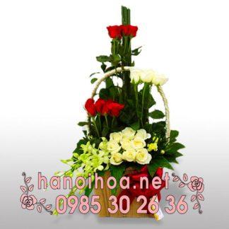 Giỏ hoa GH08