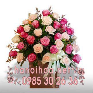 Giỏ hoa GH10