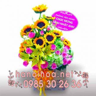 Giỏ hoa GH11