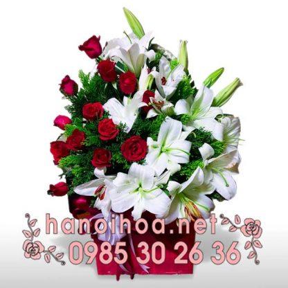 Giỏ hoa GH12
