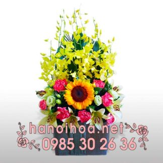 Giỏ hoa GH13