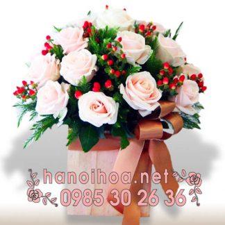 Giỏ hoa GH16