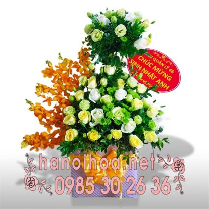 Giỏ hoa GH18