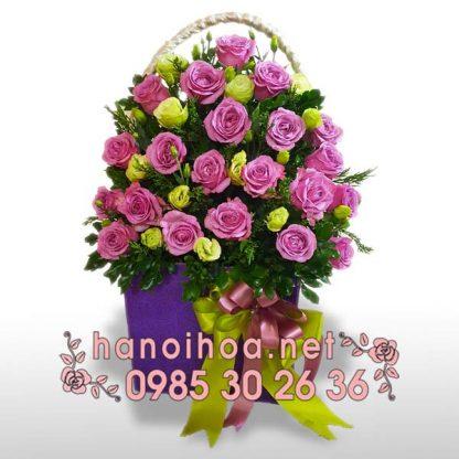 Giỏ hoa GH19