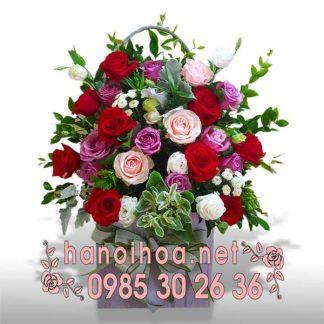 Giỏ hoa GH21