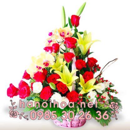 Giỏ hoa GH22