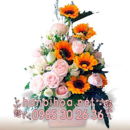 Giỏ hoa GH23