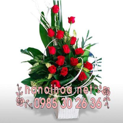 Giỏ hoa GH25