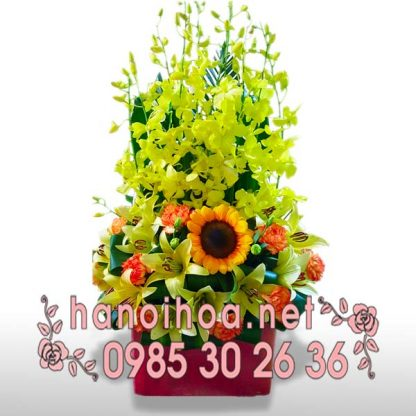Giỏ hoa GH26