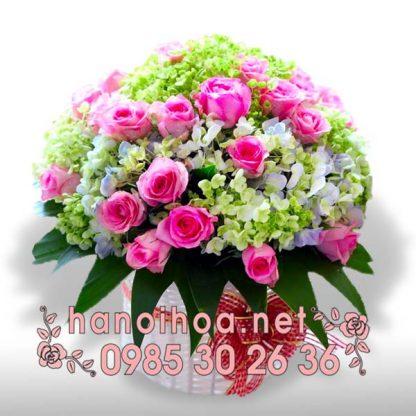 Giỏ hoa GH31