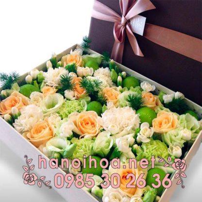 Hộp hoa tươi HH01