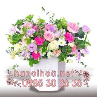 Hộp hoa tươi HH03