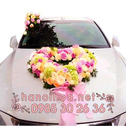 Hoa xe cưới XH08